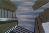 Urban Sky, 2015 Mixed media 100cmx150cm