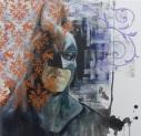Batman, 2016 Oil on Canvas, 100 x 100cm