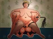 Merkel Acrylic on Canvas