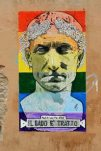 Graffiti Julius Caesar Gay Pride Rome