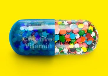 Ho Jin, Creative Vitamin, C-print on Canvas, 100 x 70cm, 2015
