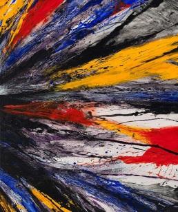 HUH CHUNG, Trace2,73X61cm,Acrylic on Canvas 2017