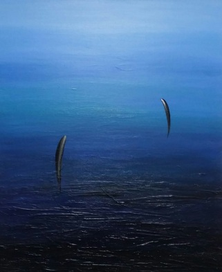 Park Hae Keung Life ,72.7 x 60.6cm,Mixed media on canvas,2017