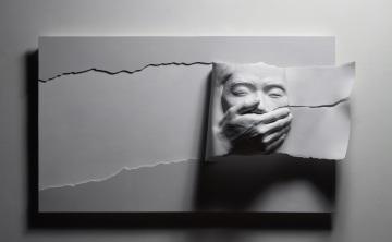 Kim, Wan Yong,moment , 85X100X28cm, Gelcoat,Urethane,painting