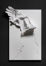 Kim, Won Yong,Icarus,110X170X25cm, Gelcoat,Urethane painting