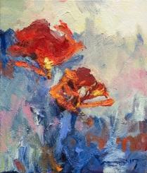 Park, Eun Ae, Pure 1, 53X45,5cm, Oil on Canvas 2017